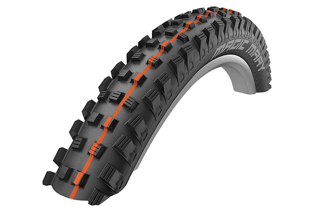 "SCHWALBE MAGIC MARY 27,5"" x 2,35"" SUPER GRAVITY ADDIX SOFT"