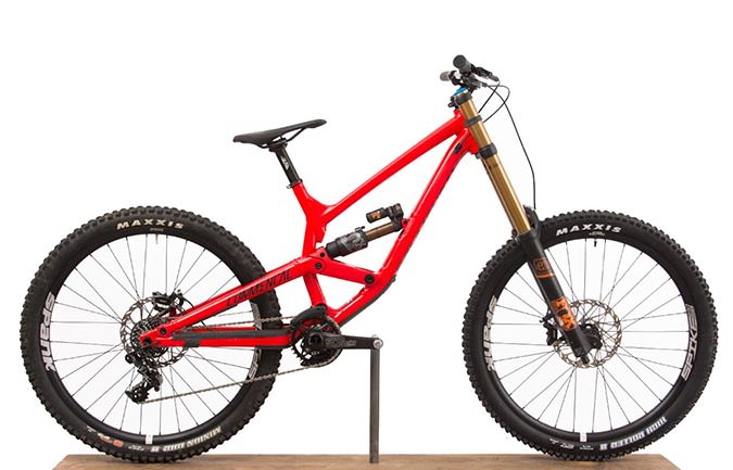 FURIOUS RACE 650B RED 2017 (S)