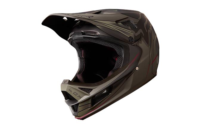 FOX RAMPAGE PRO CARBON KUSTM HELM 2018