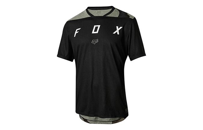 FOX YOUTH INDICATOR KURZARM TRIKOT SCHWARZ 2018