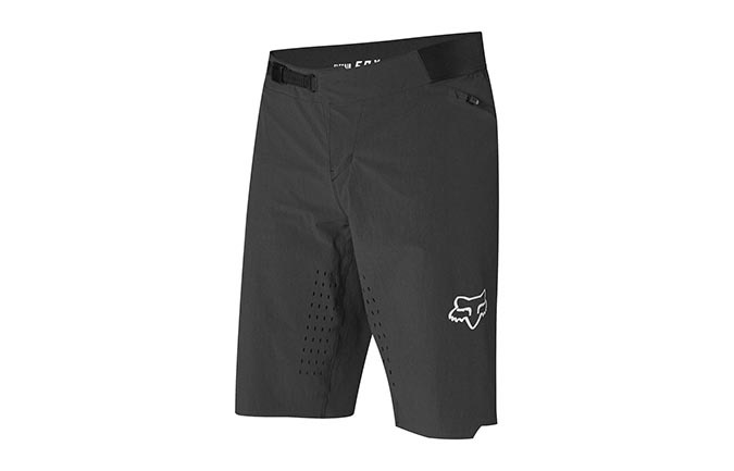 FOX FLEXAIR NO LINER SHORTS SCHWARZ