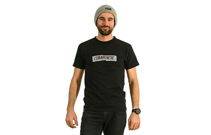 COMMENCAL T-SHIRT 2020 SCHWARZ