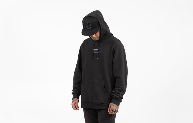 COMMENCAL HOODIE BICYCLE BLACK