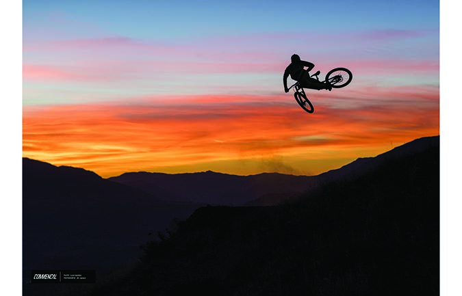 FOTODRUCK : LOUIS HAMILTON – QUEENSTOWN SUNSET
