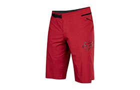 FOX ATTACK NO LINER SHORTS DUNKELROT