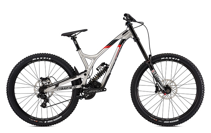 SUPREME DH 27 RACE ROCKSHOX  BRUSHED RED 2018