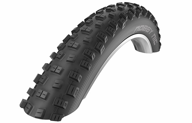 SCHWALBE NOBBY NIC 27.5 X 2.8 SNAKESKIN TL EASY APEX ADDIX SPEED GRIP