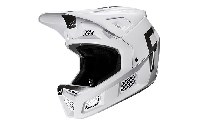FOX RAMPAGE PRO CARBON WURD HELM WHITE