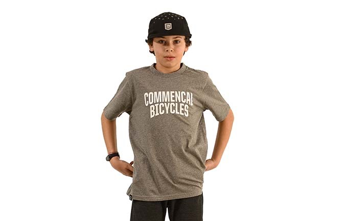 COMMENCAL KIDS T-SHIRT 2020 GRAU