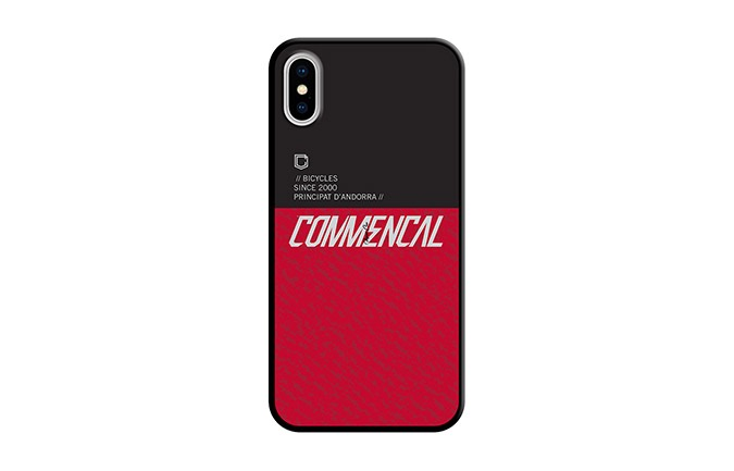 COMMENCAL HÜLLE FÜR IPHONE X-XS ROT 2019