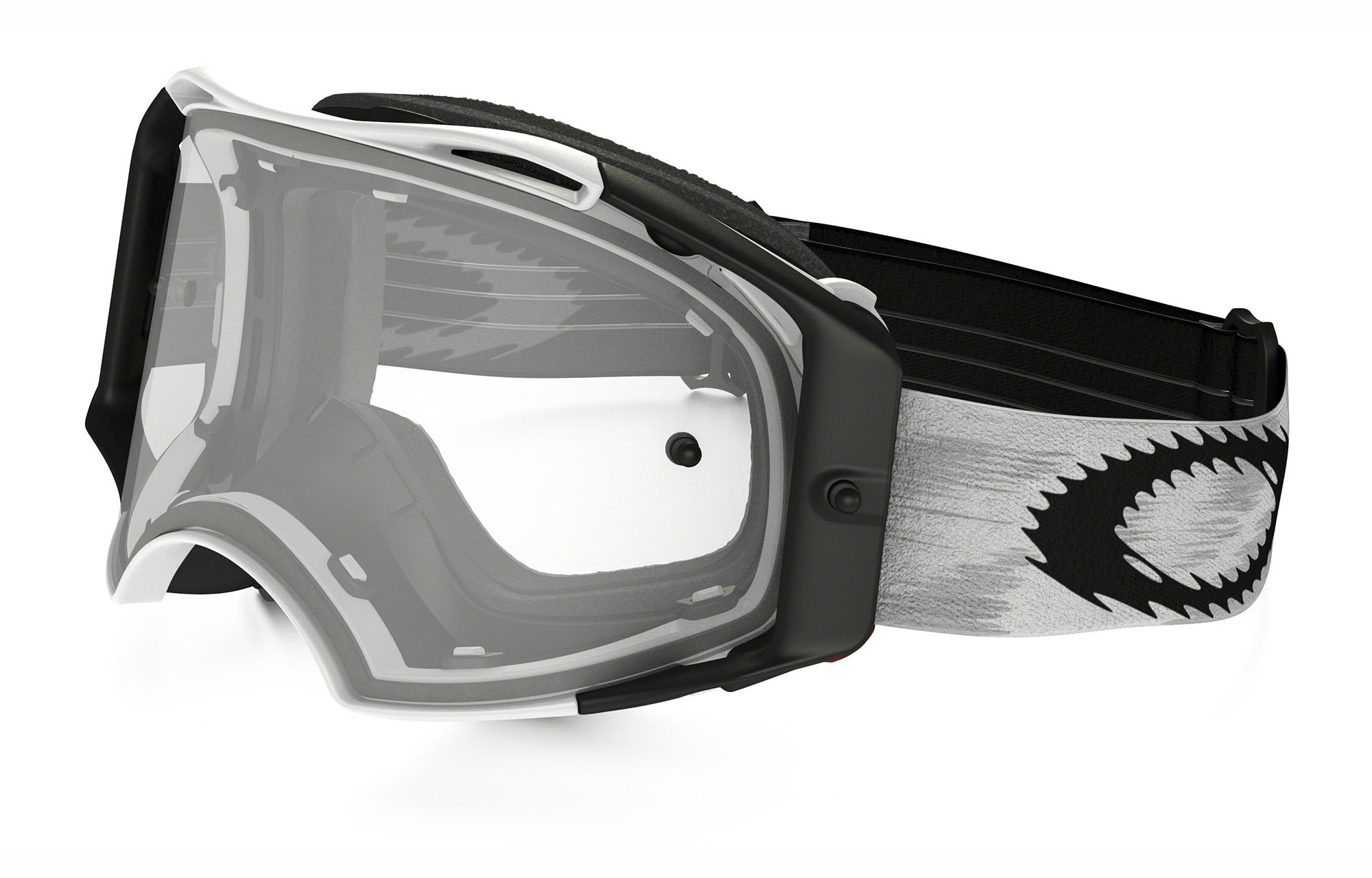 OAKLEY AIRBRAKE MX MATT WEISS SPEED, KLAR ...