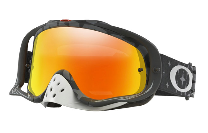 OAKLEY CROWBAR TLD MEGABURST BLACK/FIRE IRIDIUM