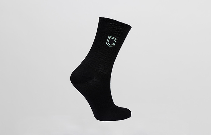 COMMENCAL LEICHTE LIFESTYLE SOCKSEN SHIELD HERITAGE GREEN