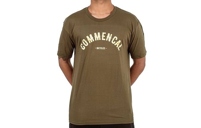 T-SHIRT COLLEGE MILITARY GREEN 2018