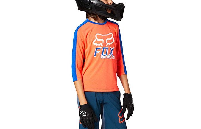 FOX KIDS RANGER 3/4 TRIKOT RD ATOMIC PUNCH