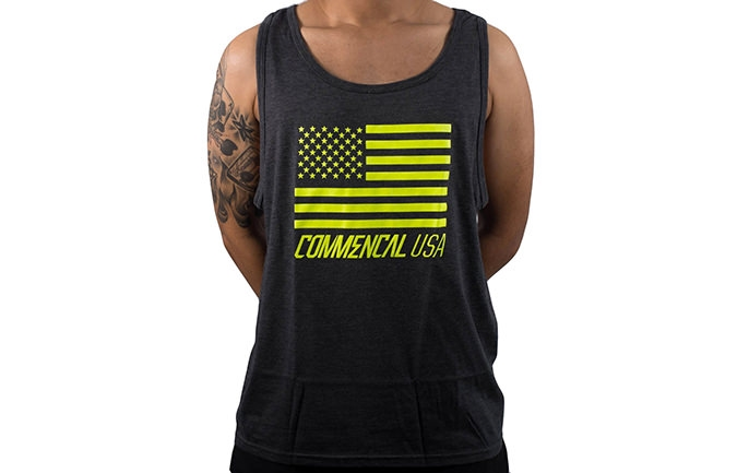 TANK TOP GELB COMMENCAL USA