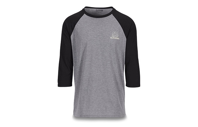 DAKINE 3/4-ARM WELL ROUNDED RAGLAN TECH-T 2019