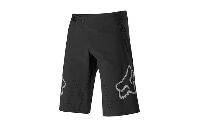 FOX DEFEND SHORTS SCHWARZ