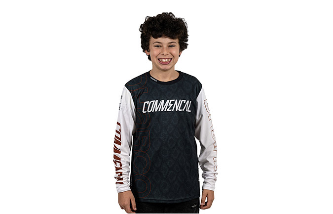 COMMENCAL/DHARCO KIDS RAMPAGE EDITION LANGARM T-SHIRT