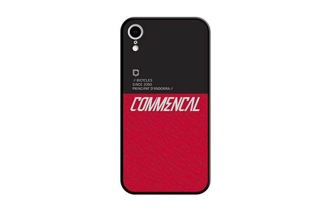 COMMENCAL HÜLLE FÜR iPHONE XR ROT 2019