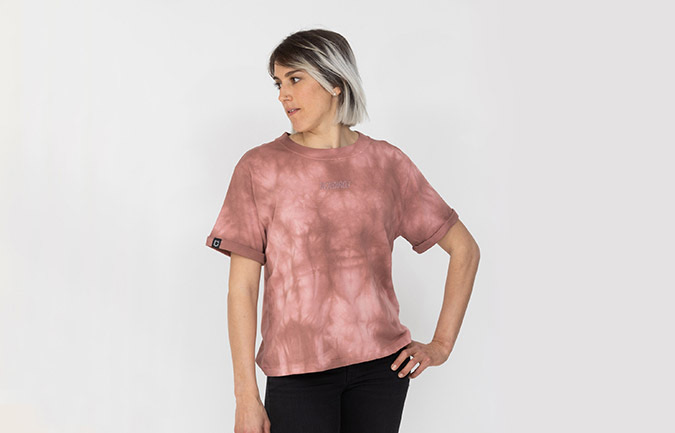 DAMEN T-SHIRT COMMENCAL TIE & DYE