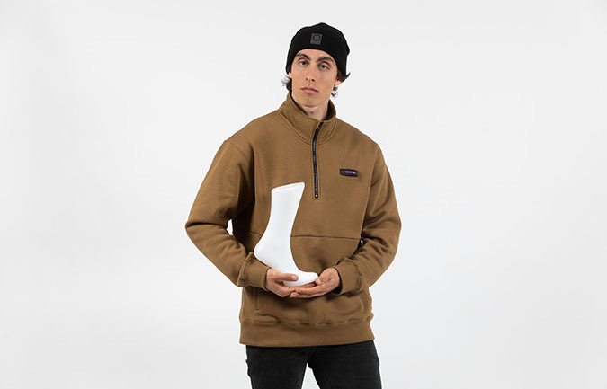 COMMENCAL SWEATER HOHER KRAGEN