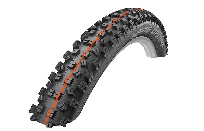 "SCHWALBE HANS DAMPF 27,5"" x 2,35"" SUPER GRAVITY ADDIX SOFT"