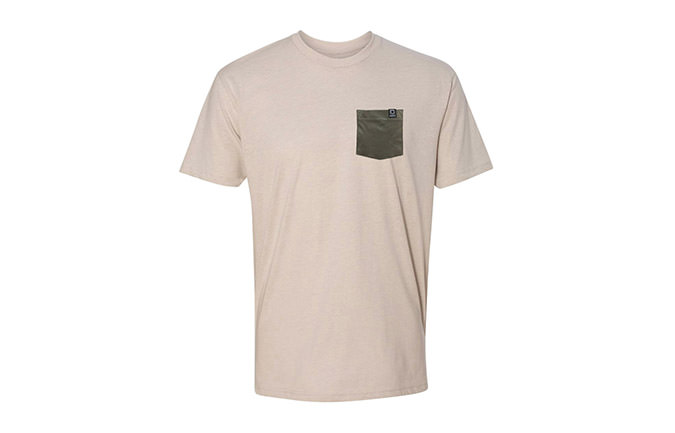 BASIC T-SHIRT SAND / GRÜN 2018