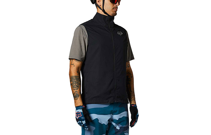 FOX RANGER WINDBREAKER VEST BLACK