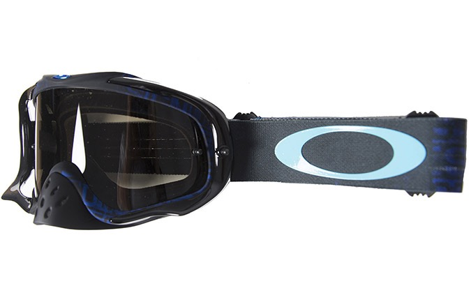 OAKLEY CROWBAR DISTRESS TAGLINE STEALTH BLUE/DARK GREY