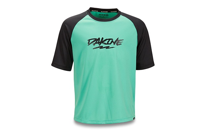 DAKINE KIDS KURZARMTRIKOT PRODIGY ELECTRIC MINT 2019