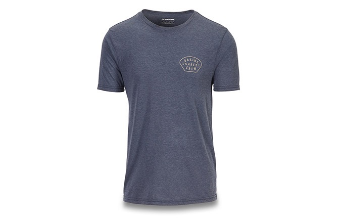 DAKINE SHRED CREW KURZARM TECH T HEATHERNAVY 2019