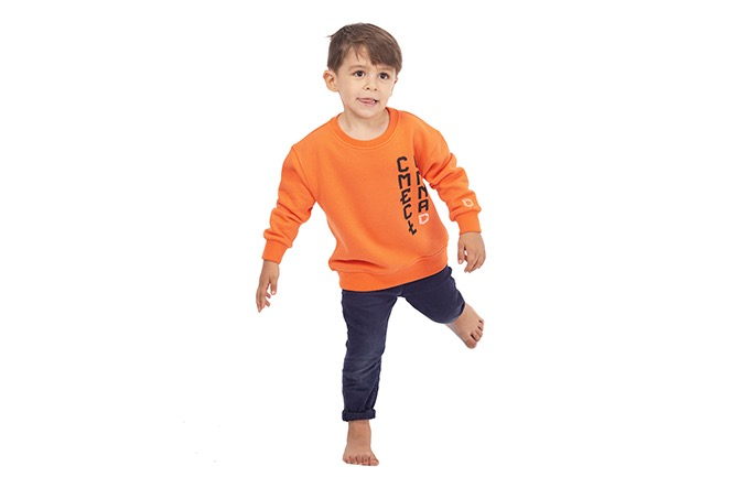COMMENCAL KIDS CREWNECK 2020 ORANGE