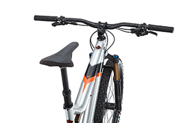 META TRAIL V4.2 RACE 650B BRUSHED/ BLACK/ORANGE 2018