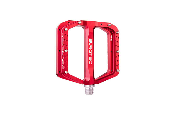BURGTEC PENTHOUSE FLAT MK5 PEDALE RACE RED
