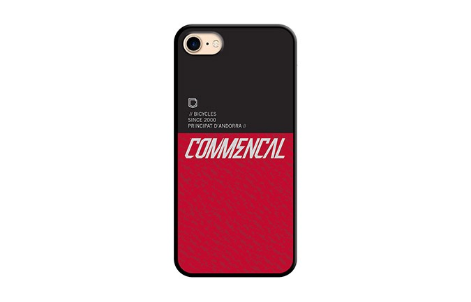 COMMENCAL HÜLLE FÜR iPHONE 7/8 ROT 2019