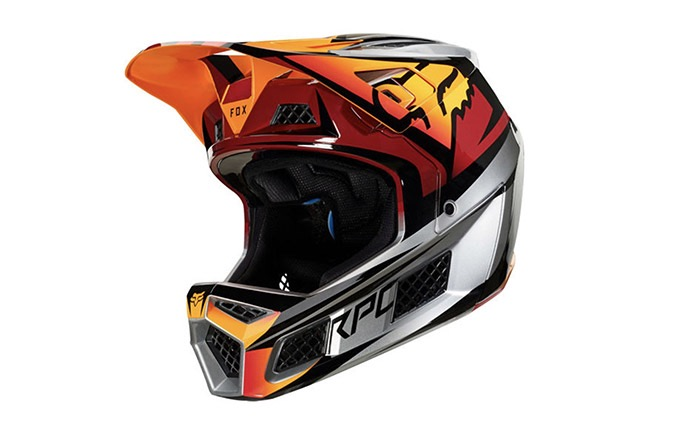 FOX RAMPAGE PRO CARBON HELM ICED 2019
