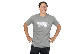 COMMENCAL T-SHIRT 2020 GRAU