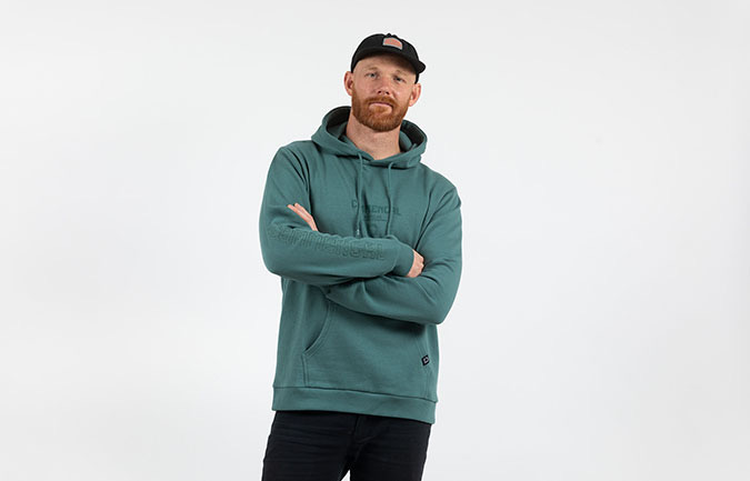 COMMENCAL HOODIE CORPORATE SWAMP