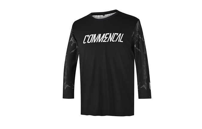COMMENCAL KIDS TRIKOT CUSTOM BLACK